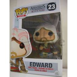 POP! Funko - Assassin's Creed Iv Black Flag - Edward    Pop! Games Funko Action Figure