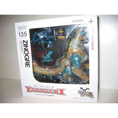 Monster Hunter - Revoltech N.135 Zinogre Kaiyodo     Kaiyodo Action Figure