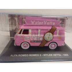Alfa romeo 2 Wyler Wetta 1955    Veicoli pubblicitari d'epoca eaglemoss Vintage