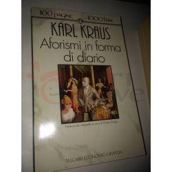 Aforismi in forma di diario  KRAUS Karl  100 pagine 1000 lire Newton Vintage