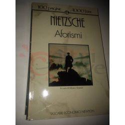 Aforismi  NIETSCHE Friedrich Wilhelm  100 pagine 1000 lire Newton Vintage