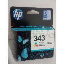 HP 343 tri-colour colori ORIGINALE     Cartuccia stampante Tech