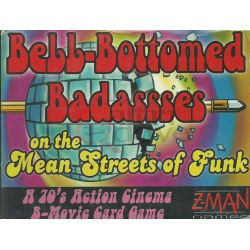 Bell-Bottomed Badassses On The Mean Streets Of Funk     Z-Man Games Cardgame