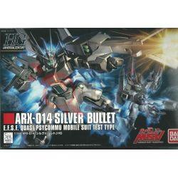 Arx-014 Silver Bullet E.F.S.F. Quasi Psycommu Mobile Suit Test Type 0185140-22   GunPLa 1/144 Bandai Scatola Di Montaggio