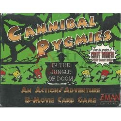 Cannibal Pygmies In The Jungle Of Doom     Z-Man Games Cardgame