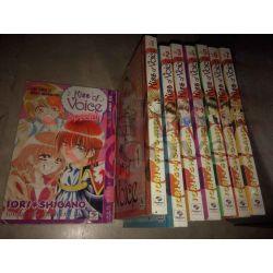 Kiss of voice (mini di 7) - Serie completa Da 1 a 7+Speciale SHIGANO Iori  Love Comix  PlayPress Vintage