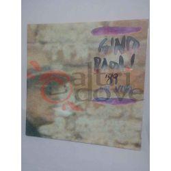 Gino Paoli '89 dal vivo     33 giri  Vinile