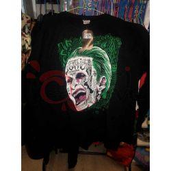 Felpa Suicide Squad Joker (nera)    DC Warner Bros. Magliette